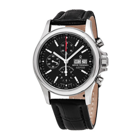 Revue Thommen Airspeed Chronograph Automatic // 17081.6534 // Store Display