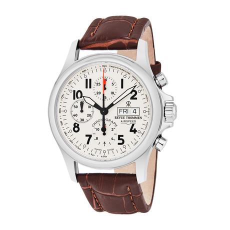 Revue Thommen Airspeed Chronograph Automatic // 17081.6538 // Store Display