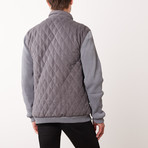 Paolo Lercara // Contrast Sleeve Jacket // Gray (L)