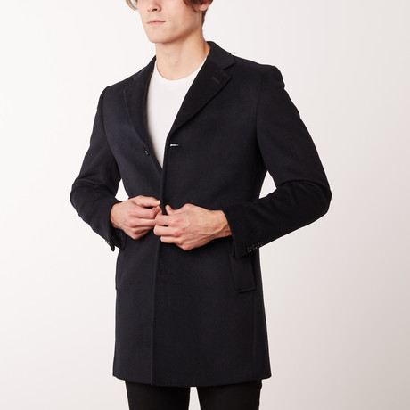Bella Vita // Overcoat // Navy (US: 34R)