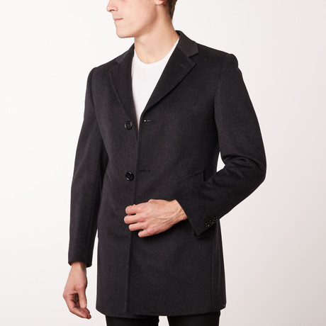 Bella Vita // Overcoat // Charcoal (US: 34R)