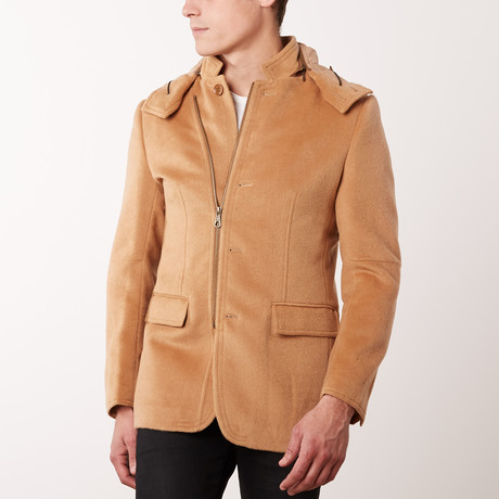 Bella Vita // Overcoat // Camel Treviso Model (US: 34R)
