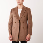 Paolo Lercara // Double Breasted Coat // Camel (US: 38R)