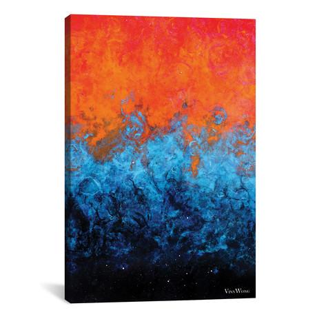 "Sea Of Flames // Vinn Wong (12""W x 18""H x 0.75""D)"