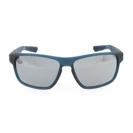 fae9416636 Nike    Men s Maverick EV07 Sunglasses    Matte Squadron Blue + Black + Gray
