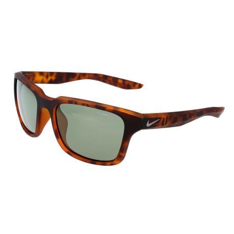 Unisex Essential Spree Sunglasses // Tortoise + Green