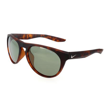 Nike // Unisex Essential Jaunt Sunglasses // Tortoise + Green