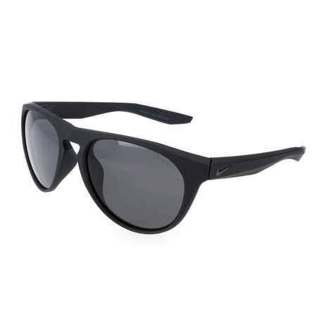 Nike // Unisex Essential Jaunt Sunglasses // Matte Black + Dark Gray