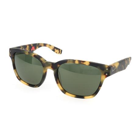 Nike // Unisex Volcano Sunglasses // Tokyo Tortoise + Green