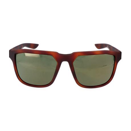 Men's Fly Sunglasses // Tortoise + Green