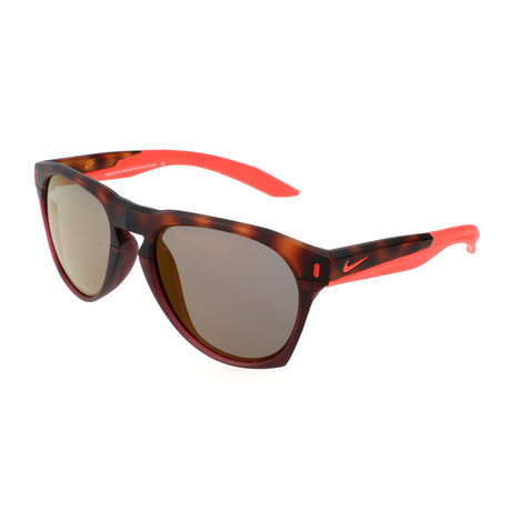 Nike // Men's Essential Navigator Sunglasses // Red Tortoise