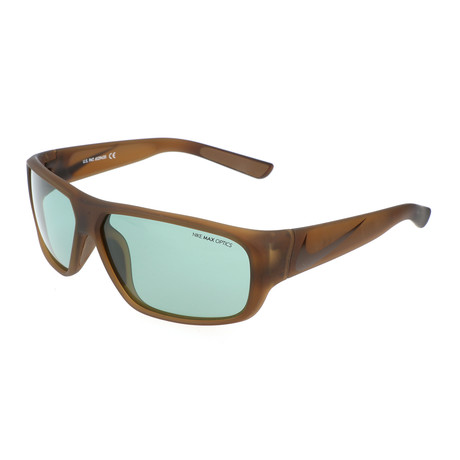 Nike // Unisex Mercurial Sunglasses // Military Brown + Green
