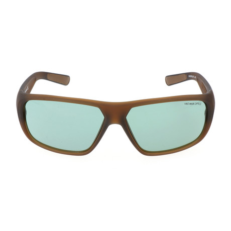 Unisex Mercurial Sunglasses // Military Brown + Green
