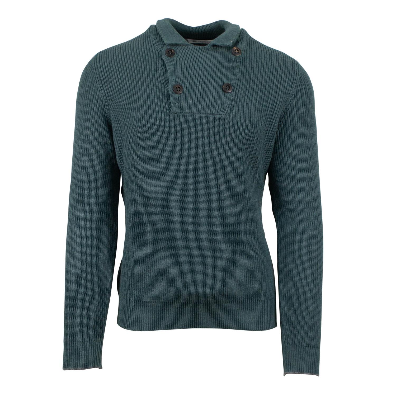 Knit euro 44 Sweater Thick Brunello Cotton Cucinelli Green tqp1tU