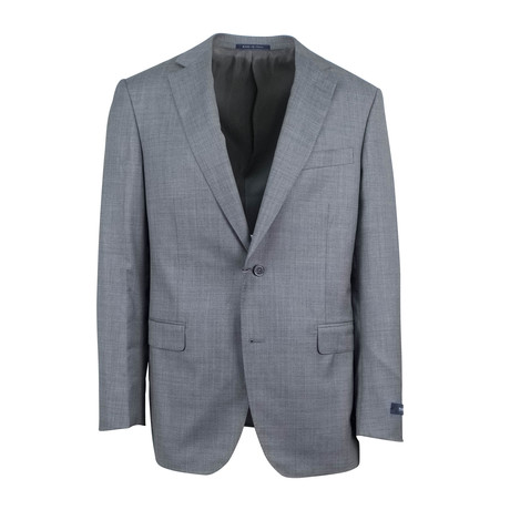 Pal Zileri // Wool 2 Button Suit // Heather Gray (Euro: 46)
