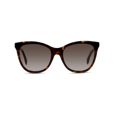 Fendi // Sunglasses // Havana Gold + Brown Gradient
