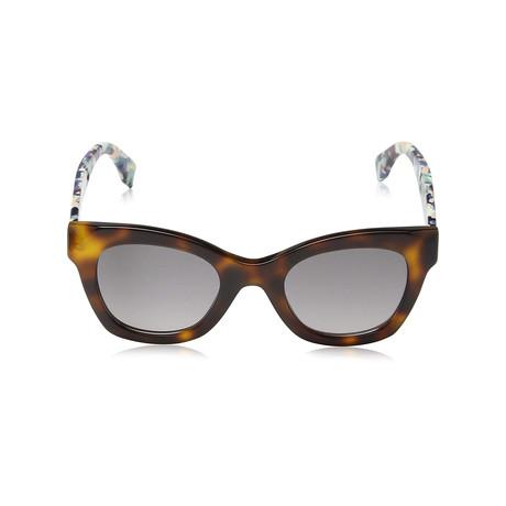 Fendi // Sunglasses // Havana + Gray