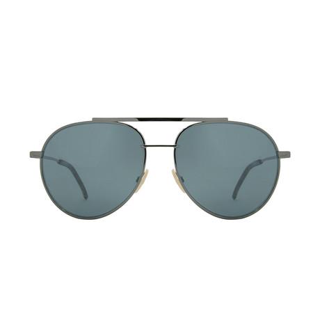 Fendi // FF-0222 Sunglasses // Silver + Silver Mirror