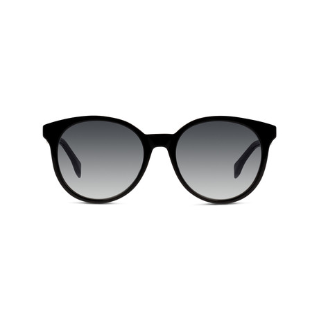 Women's FF-0231 Sunglasses // Black + Gray Gradient