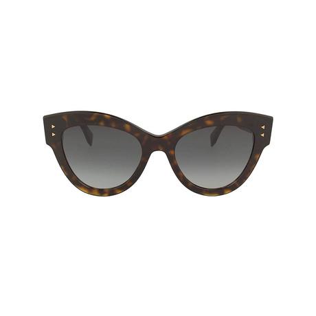 Fendi // Sunglasses // Havana + Gray Gradient