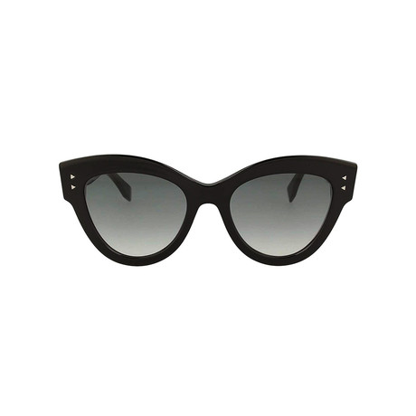 Women's FF-0266 Sunglasses // Black + Gray Gradient