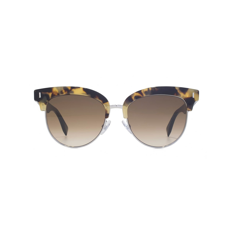 5f75691a47 Bab42193227aee50d7ccba1256dbbd0d medium. Fendi    Women s Clubmaster  Sunglasses    Havana Black + Brown Gradient