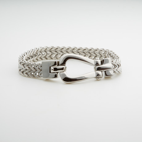 Dell Arte // Double Chain Bracelet // Silver