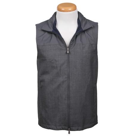 Two Tone Gray Vest // Gray (XS)