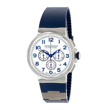 Ulysse Nardin Marine Chronograph Manufacture Automatic // 1503-150-3/60 // Unworn