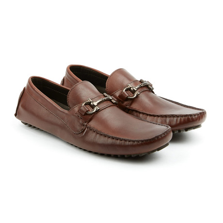 Top Kicker Leather Moccasins // Brown (US: 7)