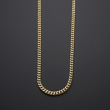 "10K Yellow Gold Miami Cuban Chain Necklace // 6.5mm (30"")"