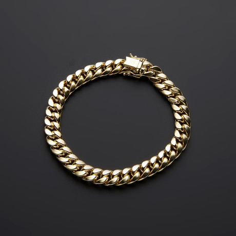 Thick Miami Cuban Bracelet // 9.5mm
