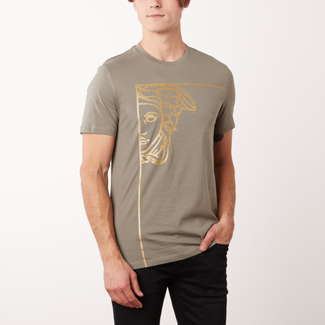Versace Collection T-Shirt // Bronze + Gold (S)