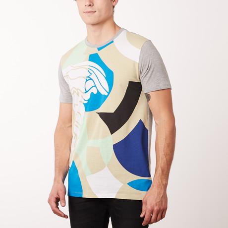 Versace Collection T-Shirt // Gray Melange Chiaro (S)