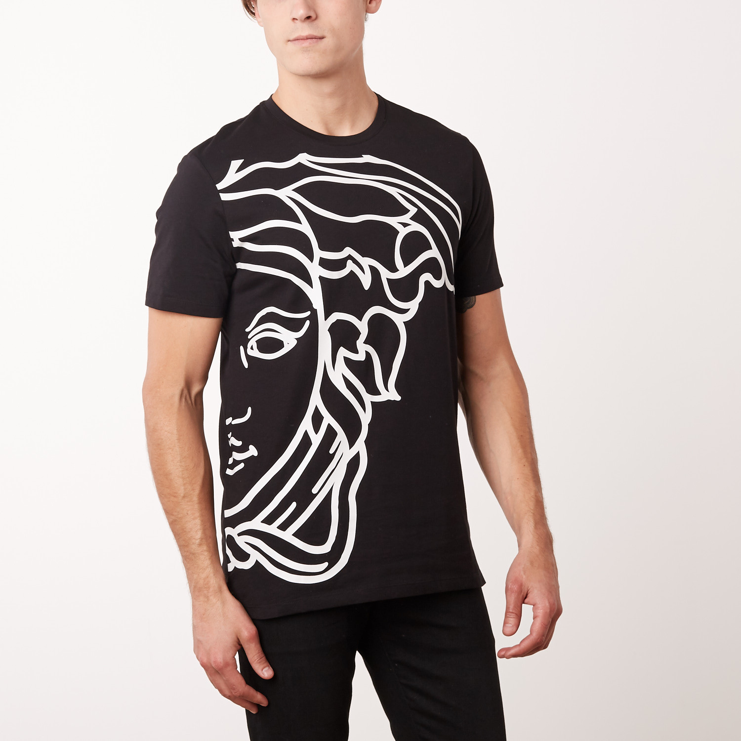 Versace Collection Medusa Head T-Shirt    Black (S) - 24-Hour ... 9bc351d328f