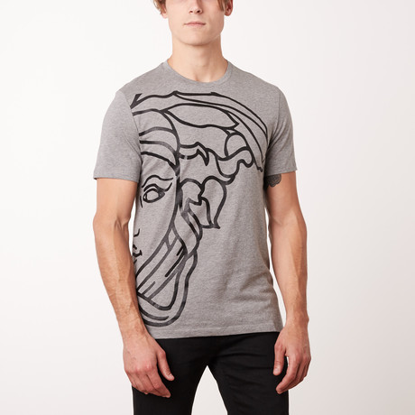 Versace Collection T-Shirt // Gray Melange Medio (S)