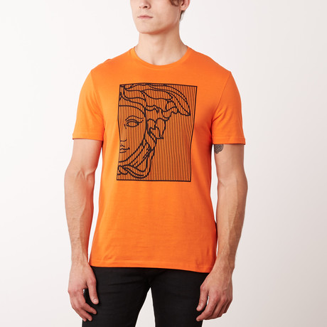 Versace Collection T-Shirt // Coral + Orange (S)