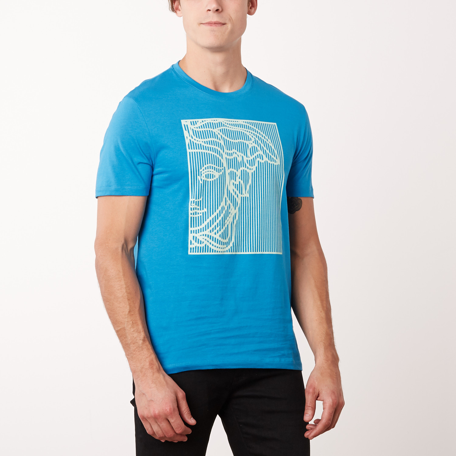 Versace Collection T-Shirt    Surf Blue (S) - Versace Collection ... 67919dbf65c