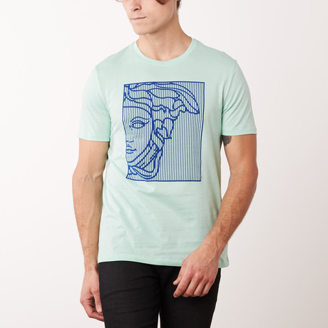 T-Shirt // Cayman + Light Green (S)
