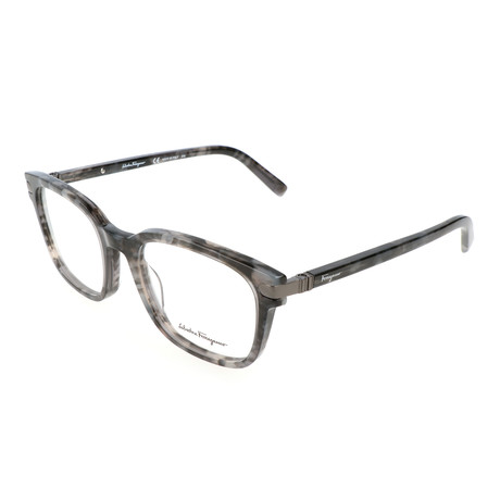 Salvatore Ferragamo // Men's Barrett Optical Frames // Marble Gray