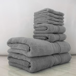Alfred Sung SOHO Collection // 8-Piece Towel Set (Shark Skin)
