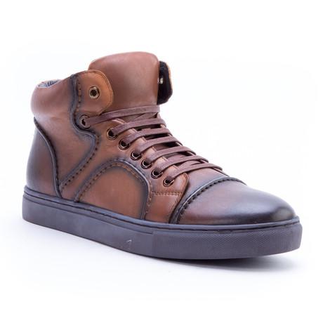 Vinyl Sneaker // Cognac (US: 8)
