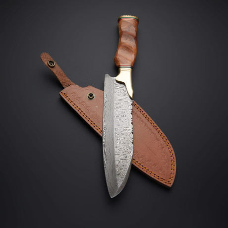 Damascus Chef Knife //09