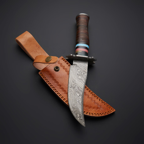Leather Hunting Knife // 20