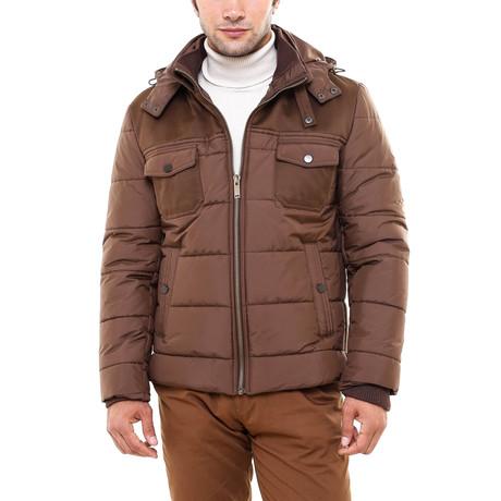Taz Slimfit Coat // Brown (Euro: 44)