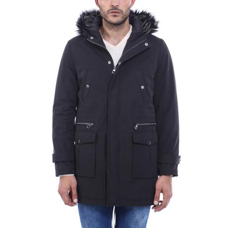 Leo Slimfit Coat // Black (Euro: 44)
