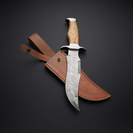 Olive Bowie Knife