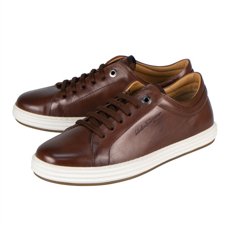 Salvatore Ferragamo // Newport Sneakers // Brown (US: 10)