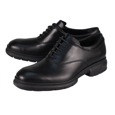 Salvatore Ferragamo // Ghent Leather Oxfords // Black (US: 10)