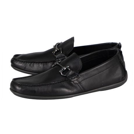 Salvatore Ferragamo // Gubbio Loafer Shoes // Black (US: 6)